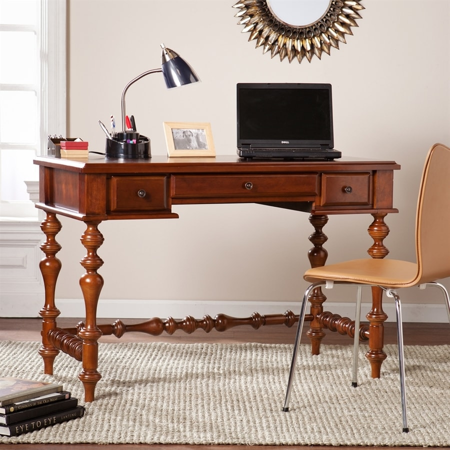 Boston Loft Furnishings Huntswillow Buckeye Oak Laptop Desk