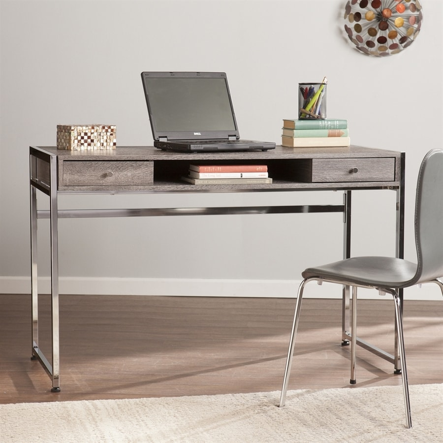Boston Loft Furnishings Narcross Weathered Gray Writing Desk