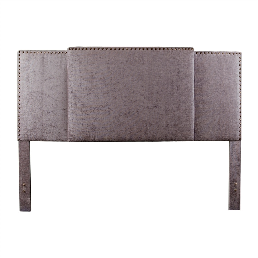 Boston Loft Furnishings Gandar Gray Polyester Upholstered Headboard