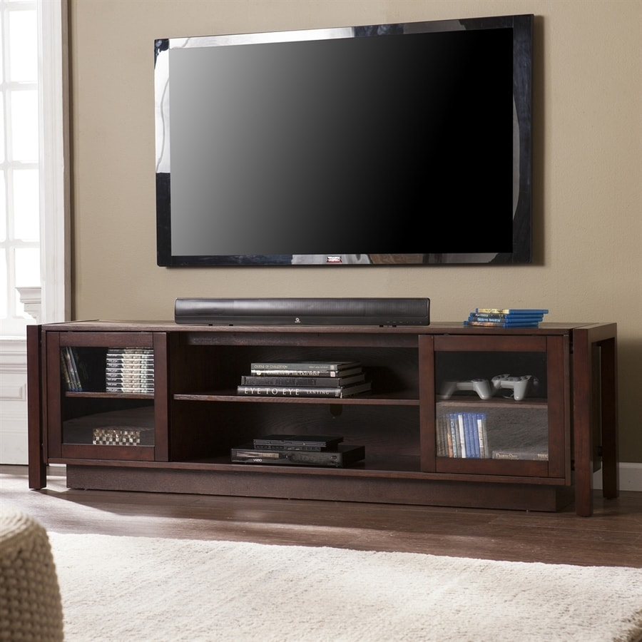 Boston Loft Furnishings Brakeford Espresso Rectangular TV Cabinet