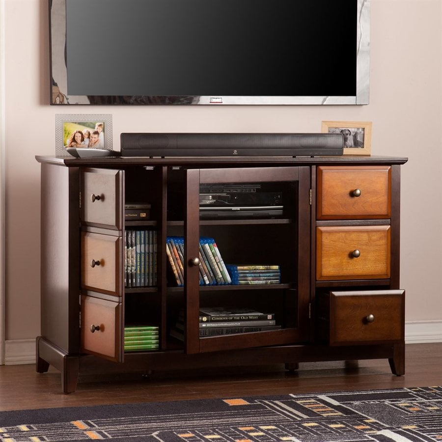 Boston Loft Furnishings Preston Espresso Rectangular TV Cabinet