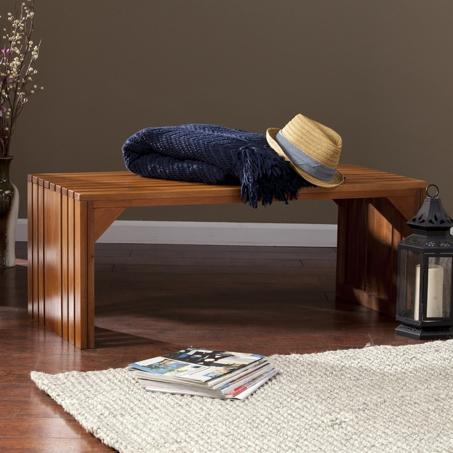 Boston Loft Furnishings Vance Natural Indoor Accent Bench