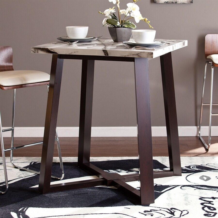 Boston Loft Furnishings Harper Espresso Square Dining Table