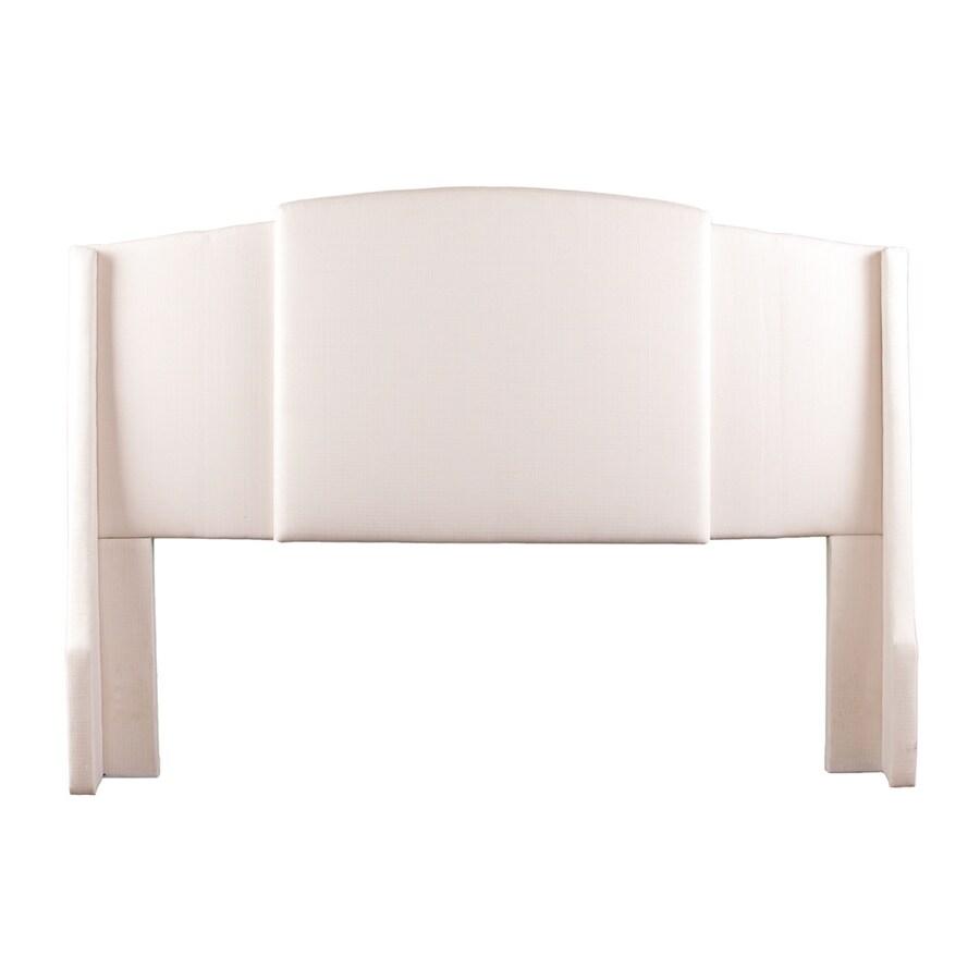 Boston Loft Furnishings Kirkland Ivory Polyester Upholstered Headboard