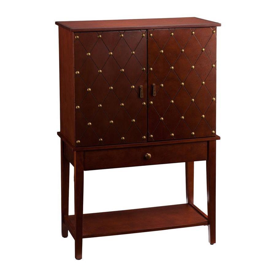 Boston Loft Furnishings Kredo 31.75-in x 48.75-in Rectangle Cabinet Bar