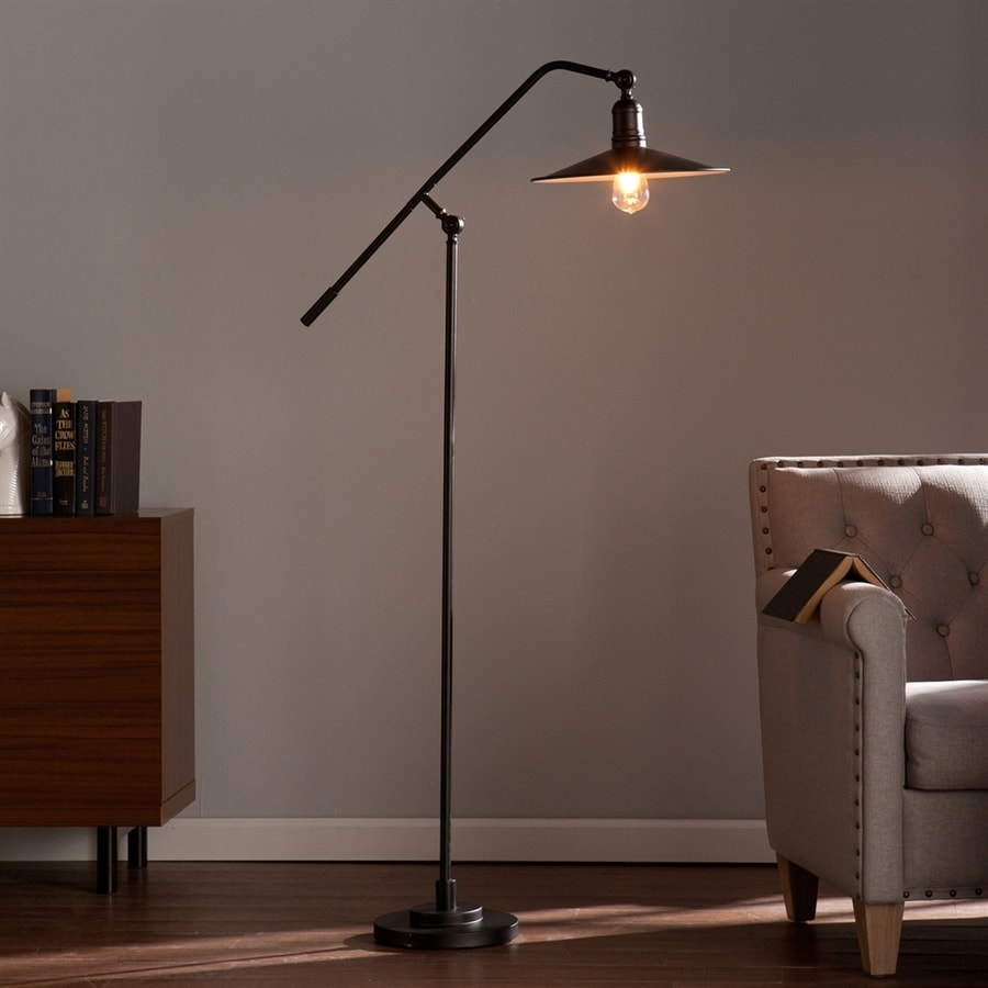 Shop boston loft furnishings bren 7025 in matte black downbridge boston loft furnishings bren 7025 in matte black downbridge indoor floor lamp with metal shade mozeypictures Choice Image