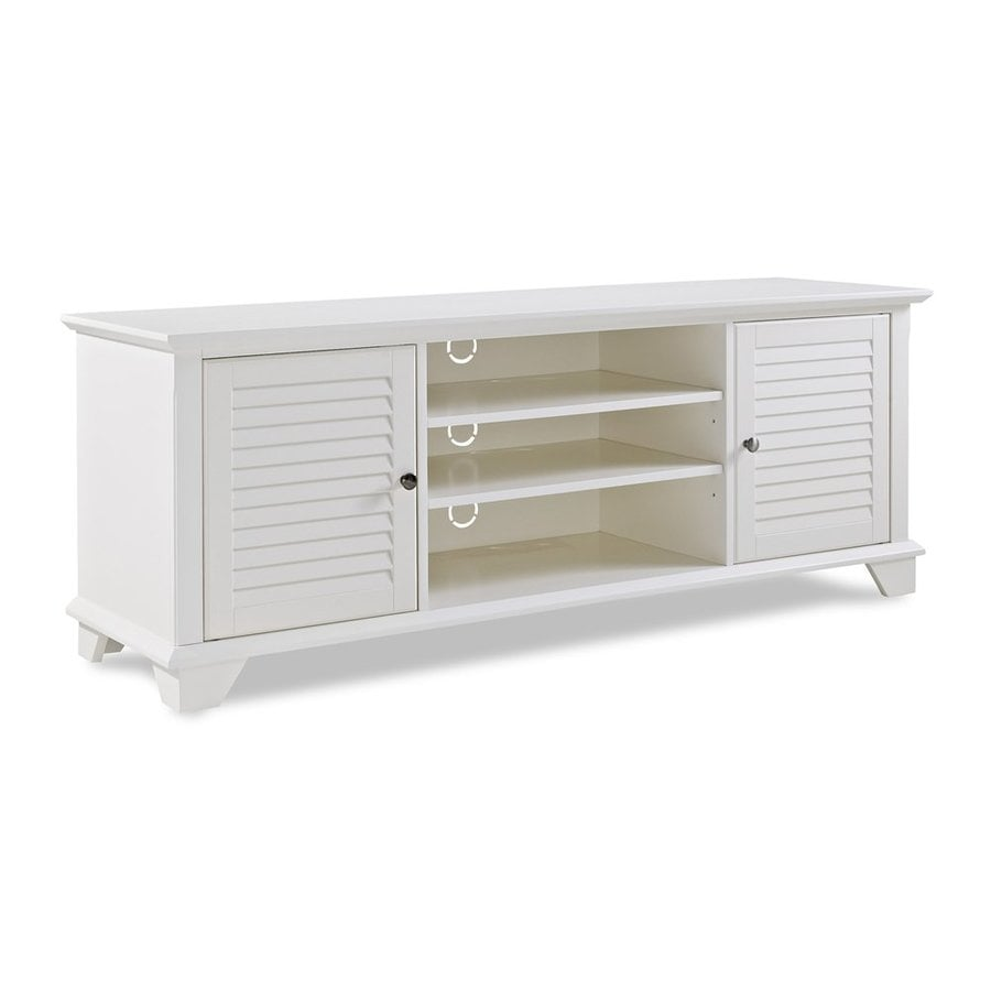 Crosley Furniture Palmetto White TV Cabinet