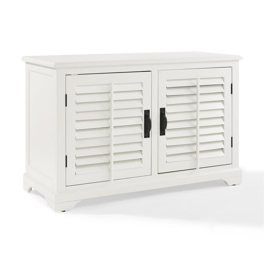 Crosley Furniture Sawgrass White Rectangular TV Cabinet
