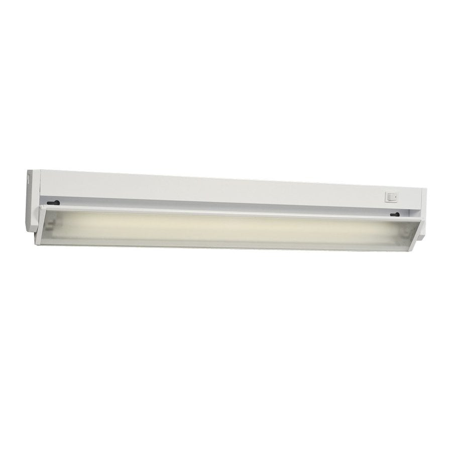 Galaxy 22.875-in Hardwired Under Cabinet Fluorescent Light Bar