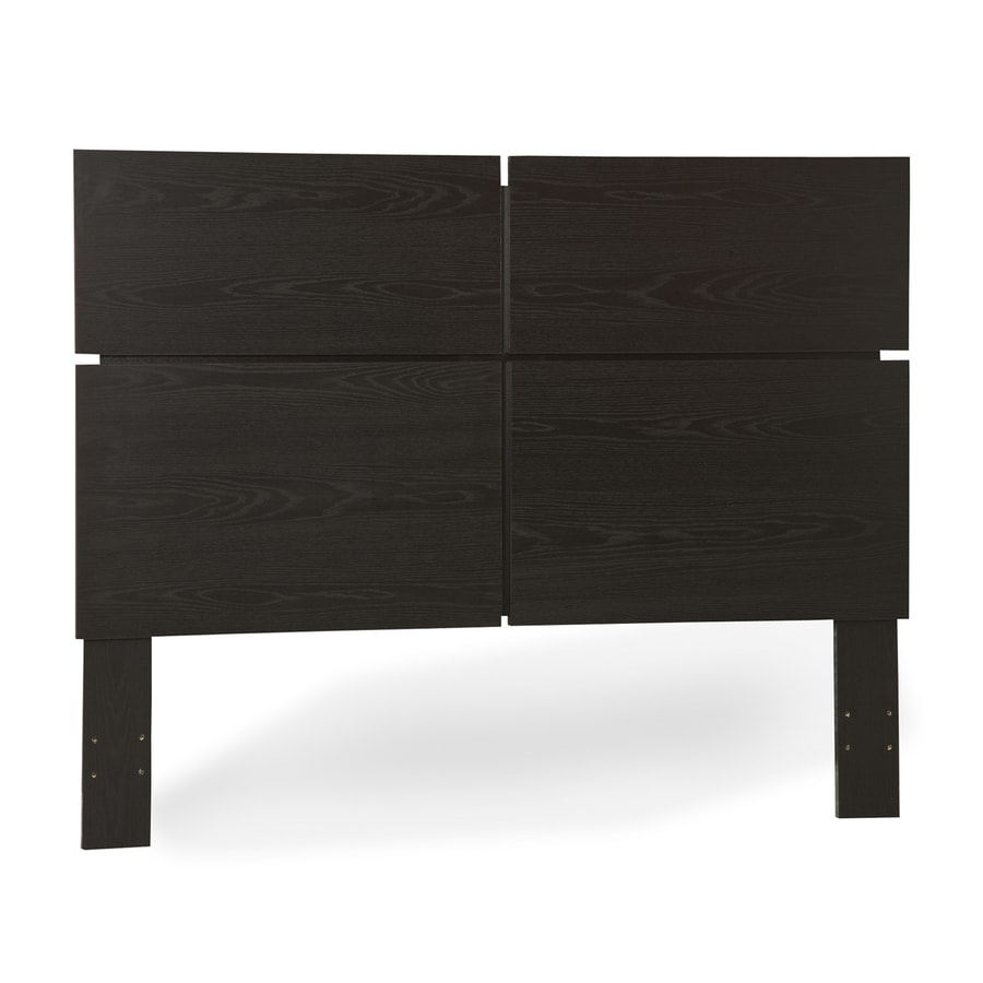 South Shore Furniture Mikka Black Oak Queen Headboard