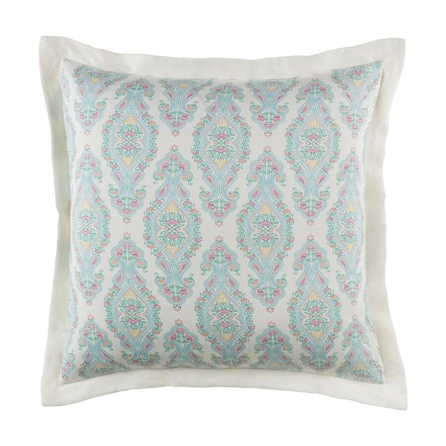 Surya Alia Aqua Euro Cotton Pillow Sham
