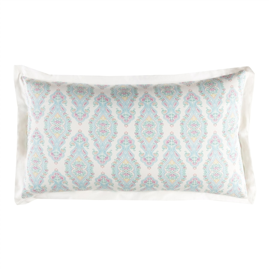 Surya Alia Aqua King Cotton Pillow Sham