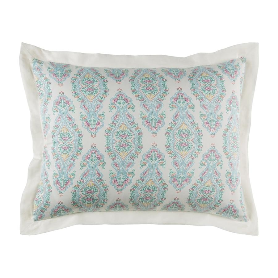 Surya Alia Aqua Standard Cotton Pillow Sham