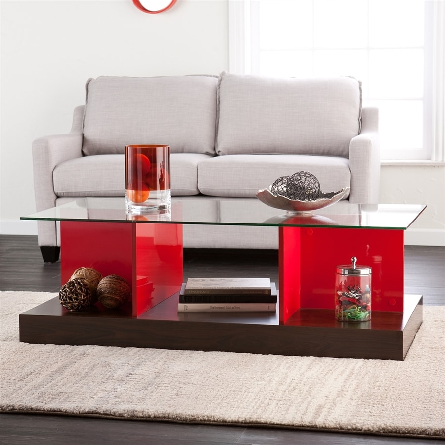 Holly & Martin Cormick Glass Coffee Table