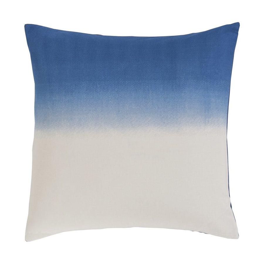 Surya Dip Dyed Navy Euro Blend Pillow Case
