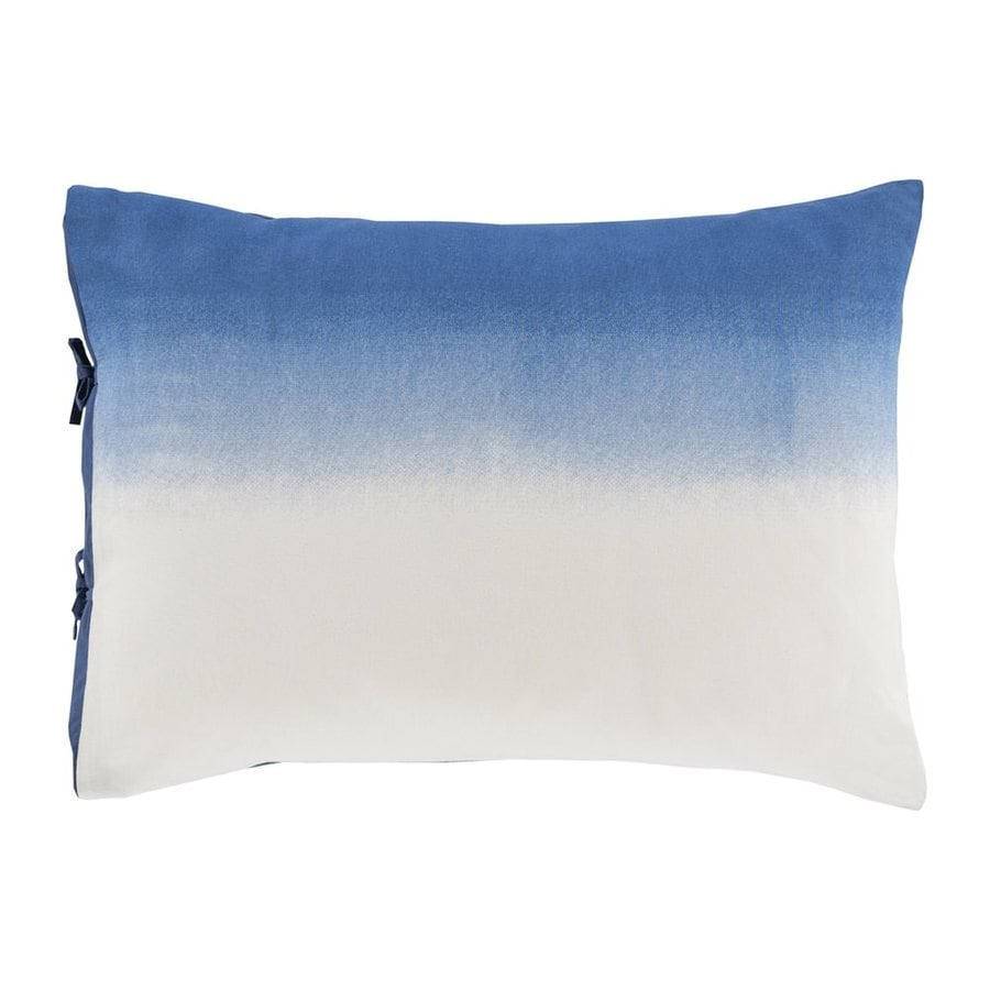Surya Dip Dyed Navy Standard Blend Pillow Case