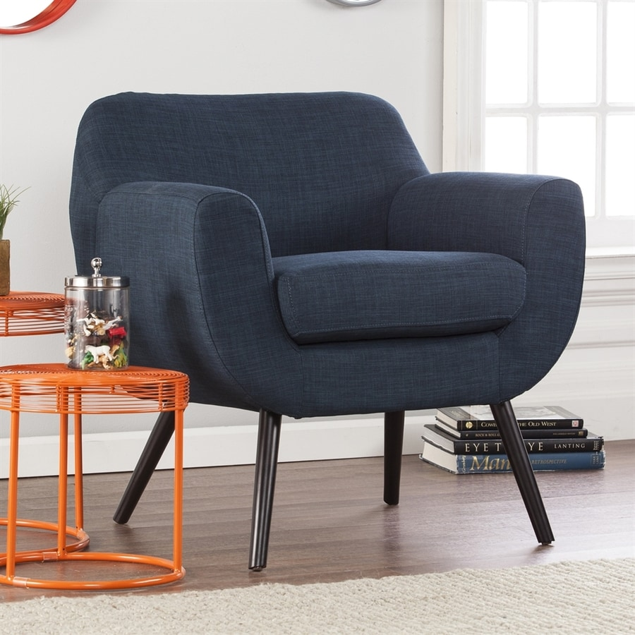 Holly & Martin Supra Navy Accent Chair