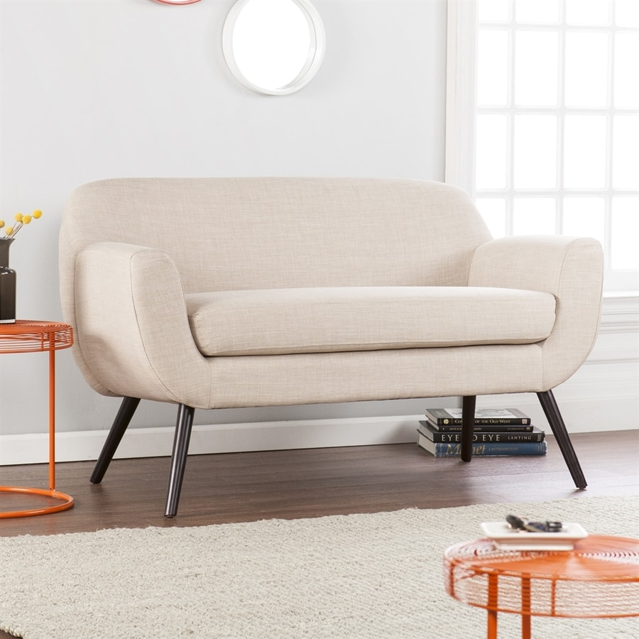Holly & Martin Supra Beige Polyester Loveseat