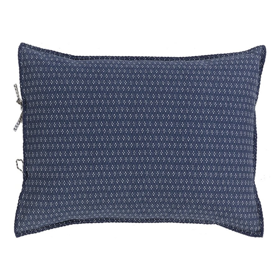 Surya Japiko Navy Standard Blend Pillow Sham