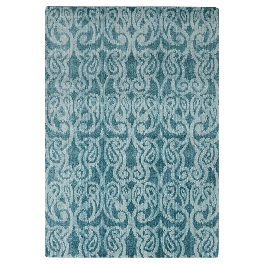 Surya Aberdine Blue Rectangular Indoor Machine-Made Area Rug (Common: 2 x 3; Actual: 26-in W x 36-in L)