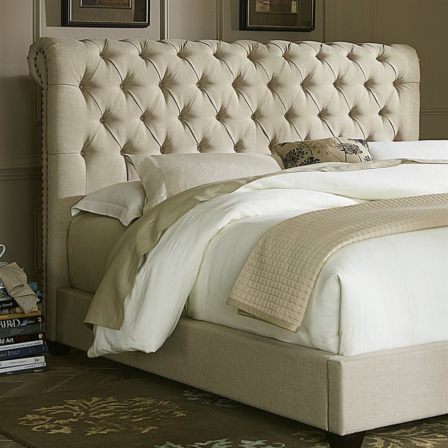 Liberty Furniture Chesterfield Natural King Linen