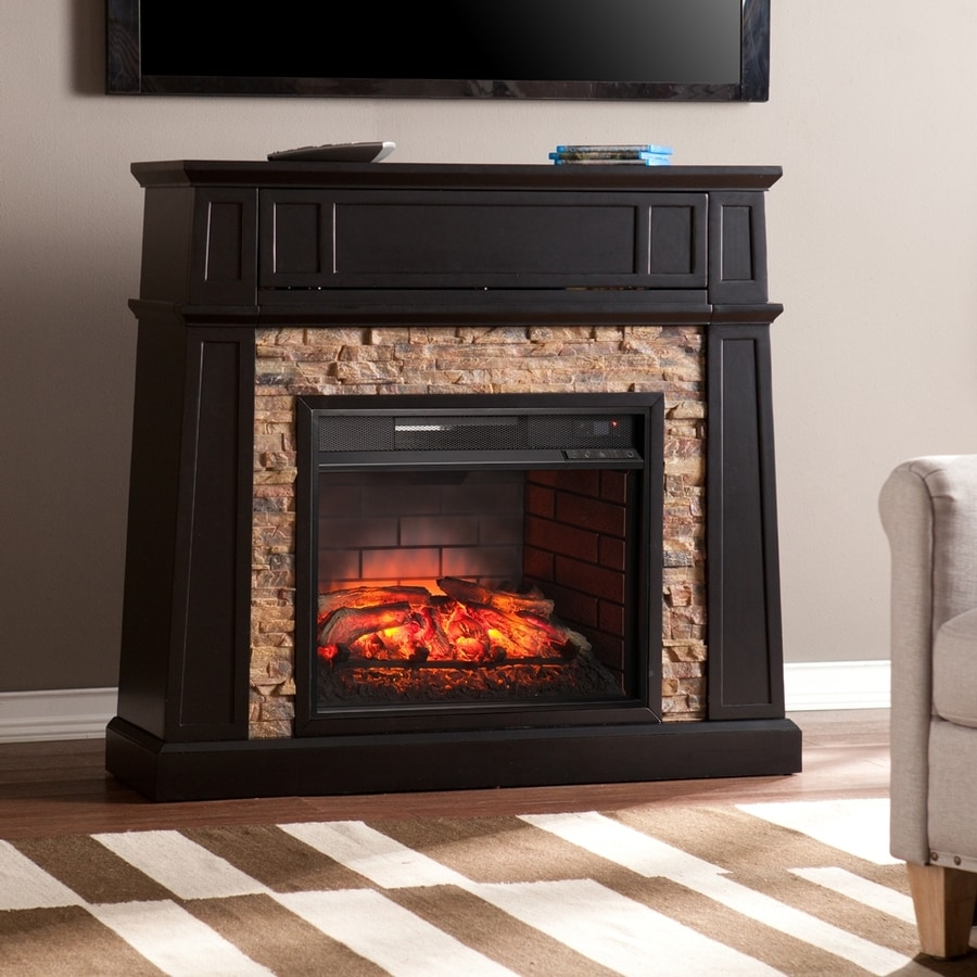 Shop boston loft furnishings w black mdf infrared Loft fireplace