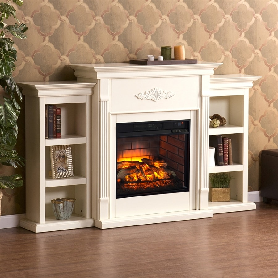 Shop boston loft furnishings w ivory mdf infrared Loft fireplace