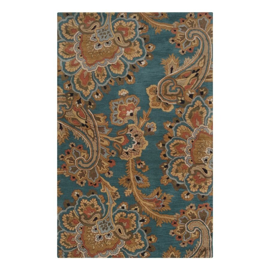 Surya Sea Rectangular Indoor Tufted Moroccan Area Rug (Common: 9 x 13; Actual: 108-in W x 156-in L)