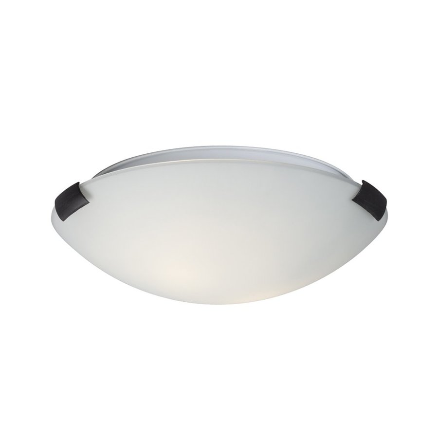 Galaxy Sola 12-in W Oiled Rubbed Bronze Flush Mount Light