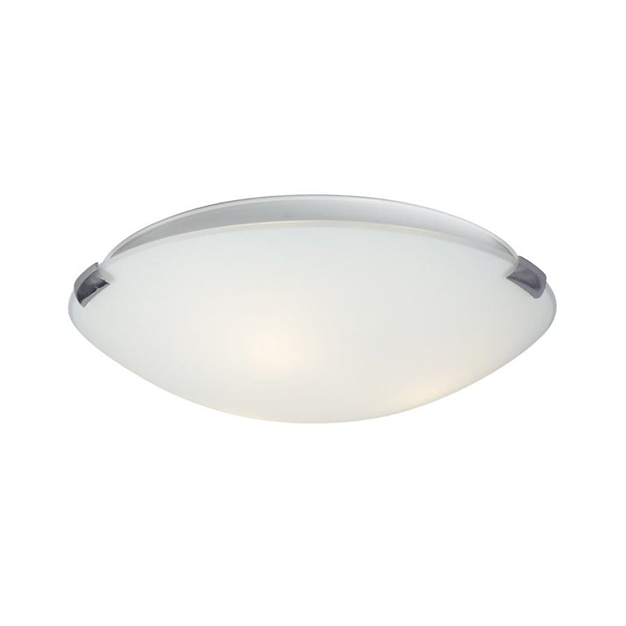 Galaxy Sola 16-in W Chrome Flush Mount Light