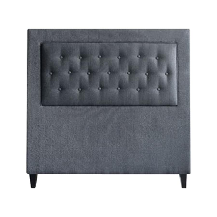 My Chic Nest Brett Deep Sea Blue King Upholstered Headboard