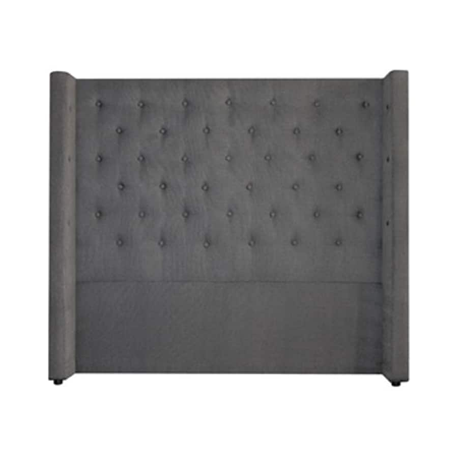 My Chic Nest Bren Pewter Queen Upholstered Headboard