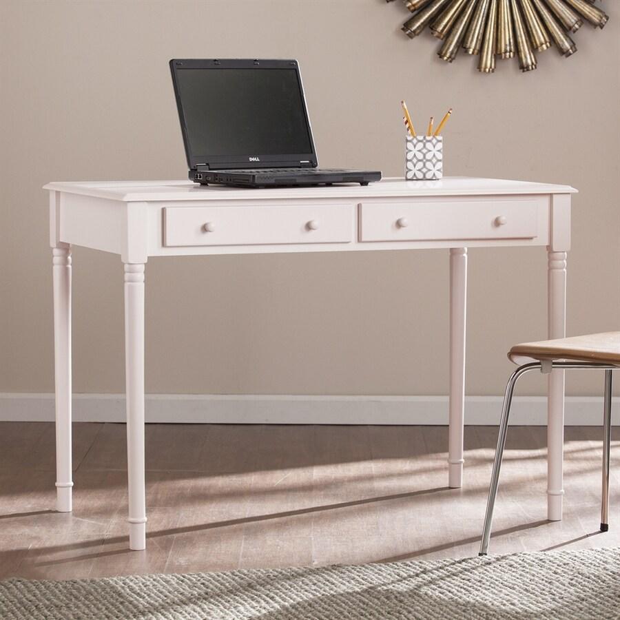 Boston Loft Furnishings Lynford Light Rose Quartz Writing Desk