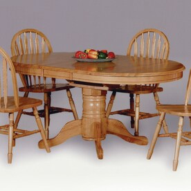 Shop dining tables at for Dining room tables lowes