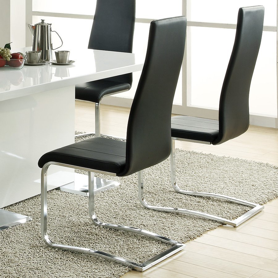 Delicieux Coaster Fine Furniture Set Of 4 Nameth Contemporary Side Chairs