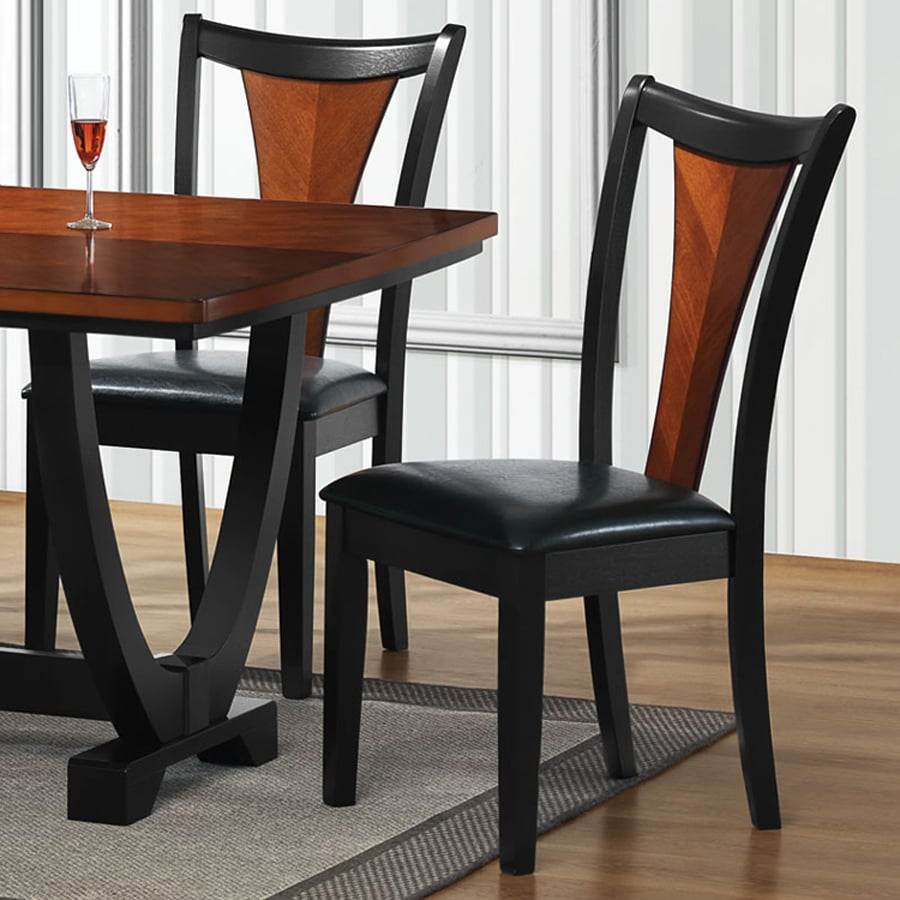Beau Coaster Fine Furniture Set Of 2 Boyer Contemporary Side Chairs