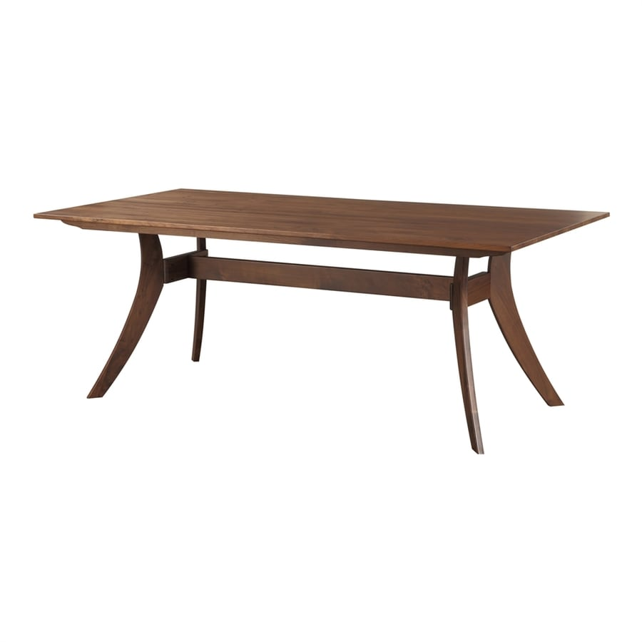 Moe's Home Collection Florence Walnut Rectangular Dining Table