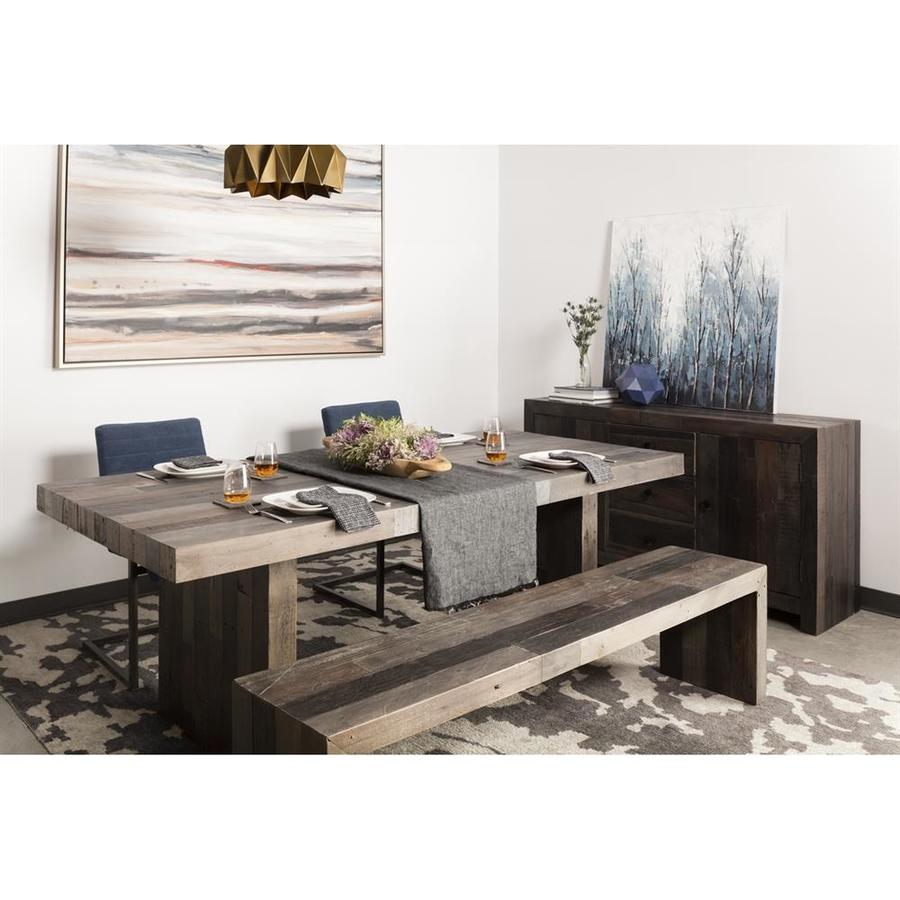 Moe's Home Collection Vintage Grey Pine Rectangular Dining Table