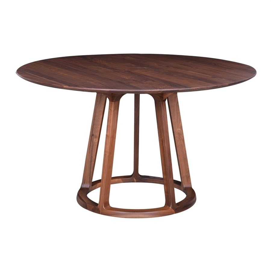 Moe's Home Collection Aldo Walnut Round Dining Table