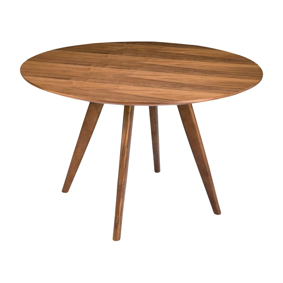 Moe's Home Collection Dover Walnut Round Dining Table