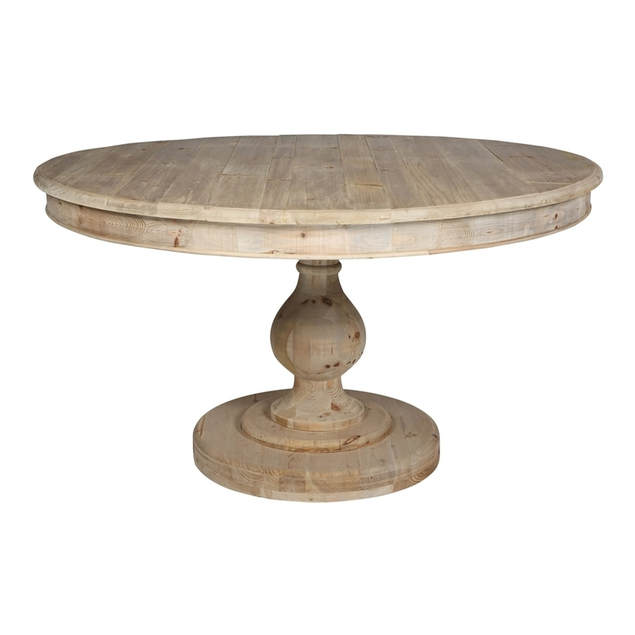 Wonderful Moeu0027s Home Collection Leonardo Reclaimed Pine Round Dining Table