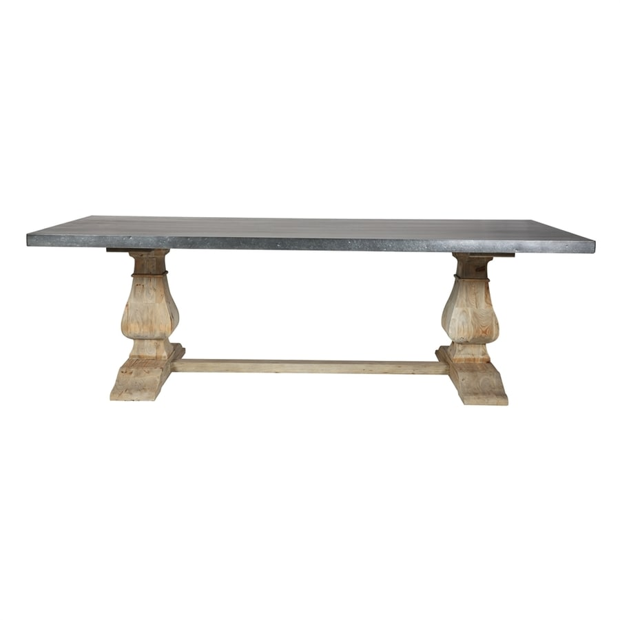 Moe's Home Collection Chateau Zinc Dining Table