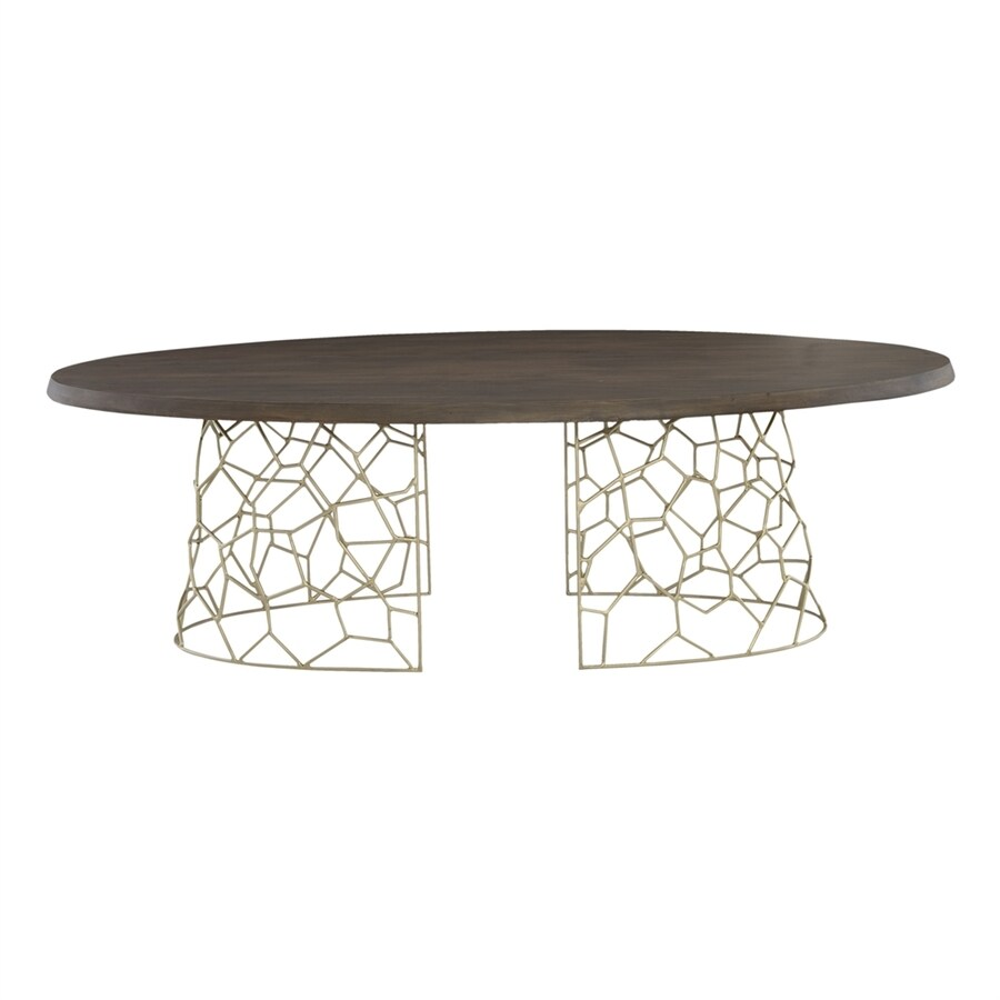 Moe's Home Collection Ario Dark Brown Oval Dining Table