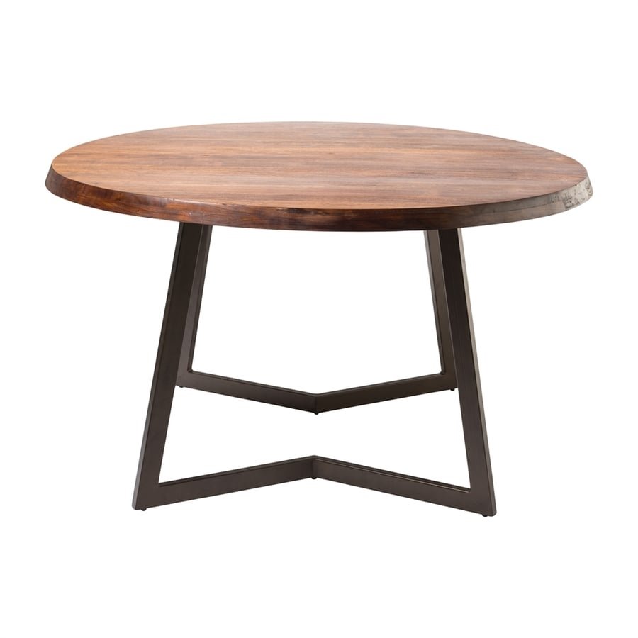 Moe's Home Collection Belem Natural Round Dining Table