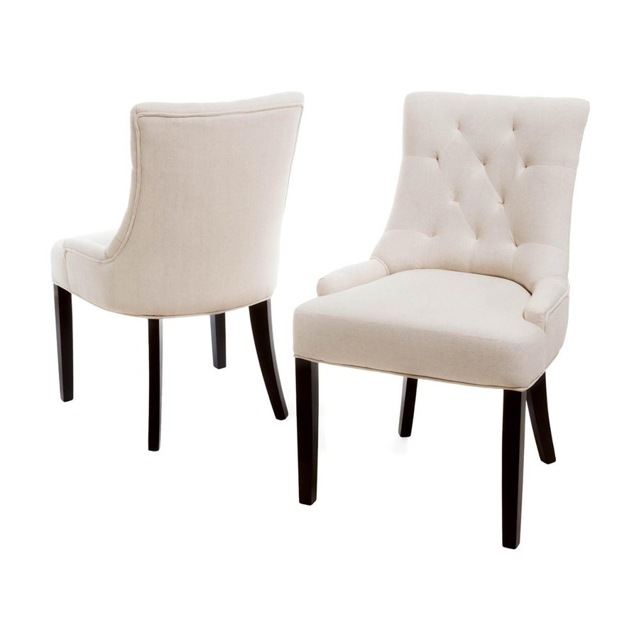 Best Selling Home Decor Set of 2 Hayden Beige Side Chair