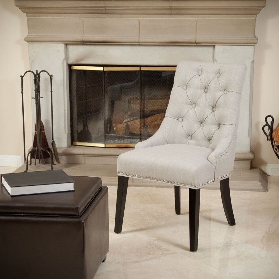 Best Selling Home Decor Katrina Beige Side Chair