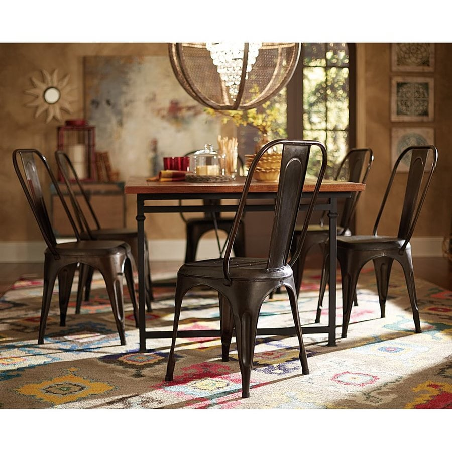 Homelegance Set of 4 Amara Rust Side Chairs