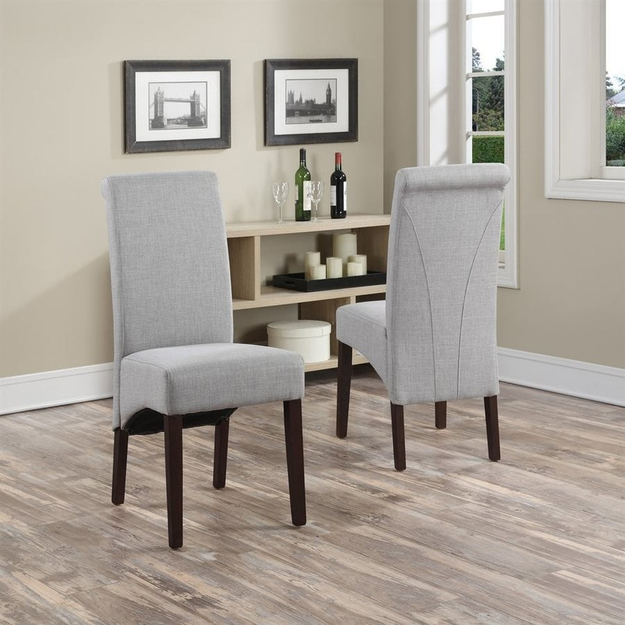 Simpli Home Set of 2 Avalon Side Chairs