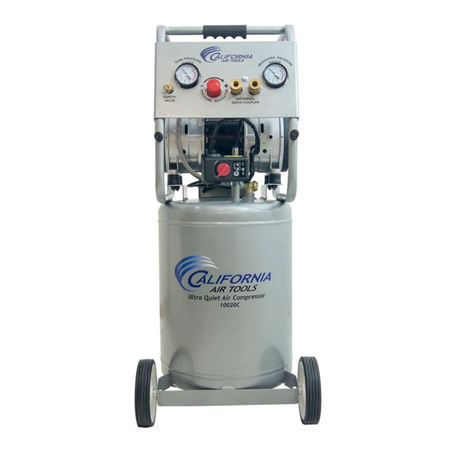 California Air Tools 10-Gallon Portable Electric Vertical Air Compressor