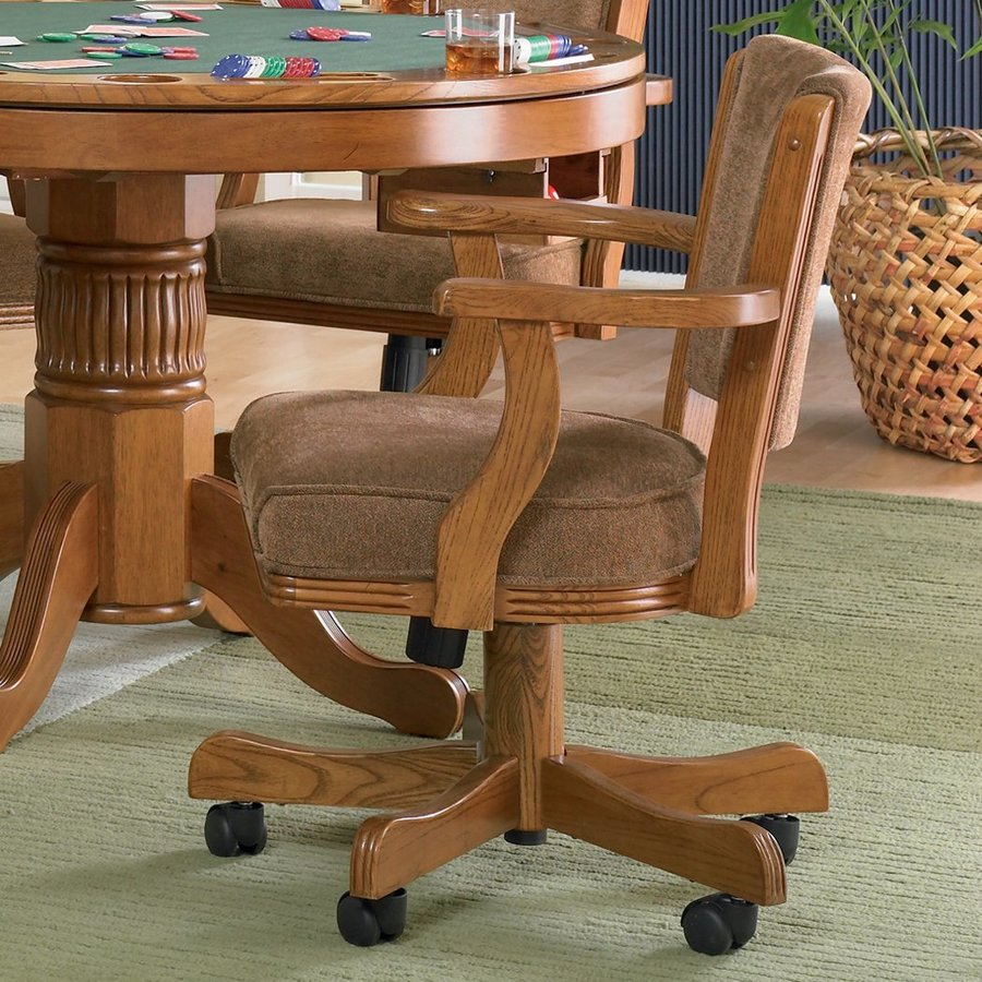 Coaster Fine Furniture Mitchell Oak Gaming Chair